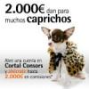 Promocion 2000 euros Cortal Consors