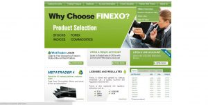Broker Forex Finexo